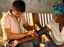 HIV aids volunteering in Africa