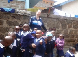 Microfinance volunteering in Africa